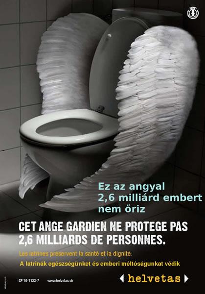 toilette stark verschmutzt
